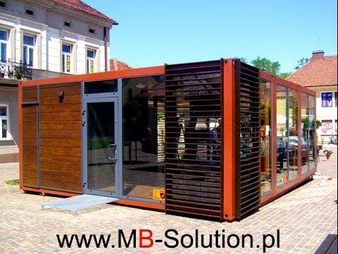 W Mega kontenery mieszkalne, kontener biurowy, altanki, domki, pawilony PN71