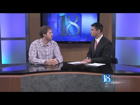 Josh Lindblom Stops by News 18 This Morning