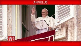 Da Piazza San Pietro, recita della Preghiera dell'Angelus guidata d...