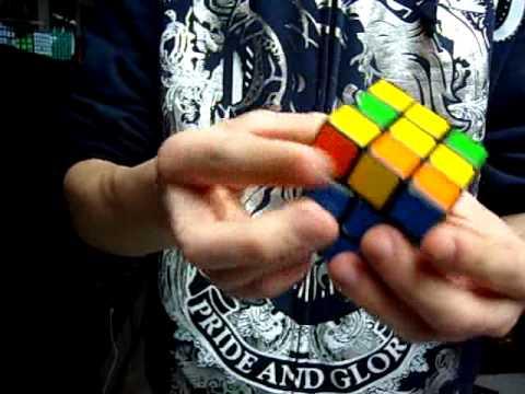 tour de magie avec un rubik's cube explication