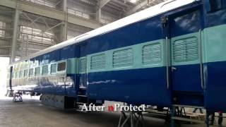 nProtect Nanocoating for Railway Coaches - Indian (Western) Railway