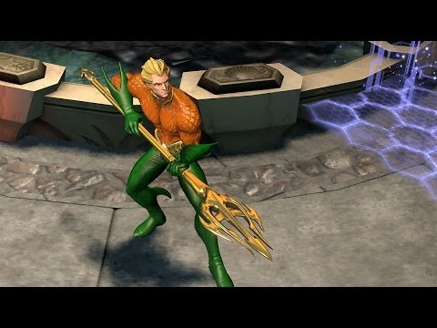Infinite Crisis - Aquaman Profile