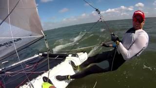 F18 sailing plus capsize?