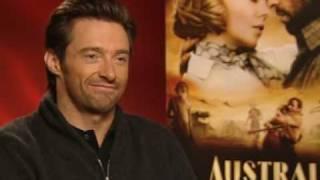 Australia star Hugh Jackman talks about the perfect  kiss