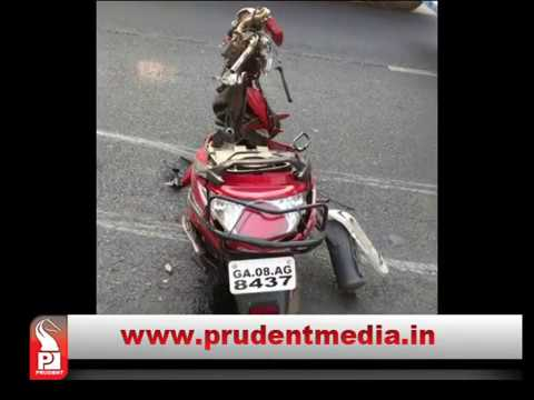 ACCIDENTS CONTINUE, ONE DIES ON VERNA BYPASS │Prudent Media Goa
