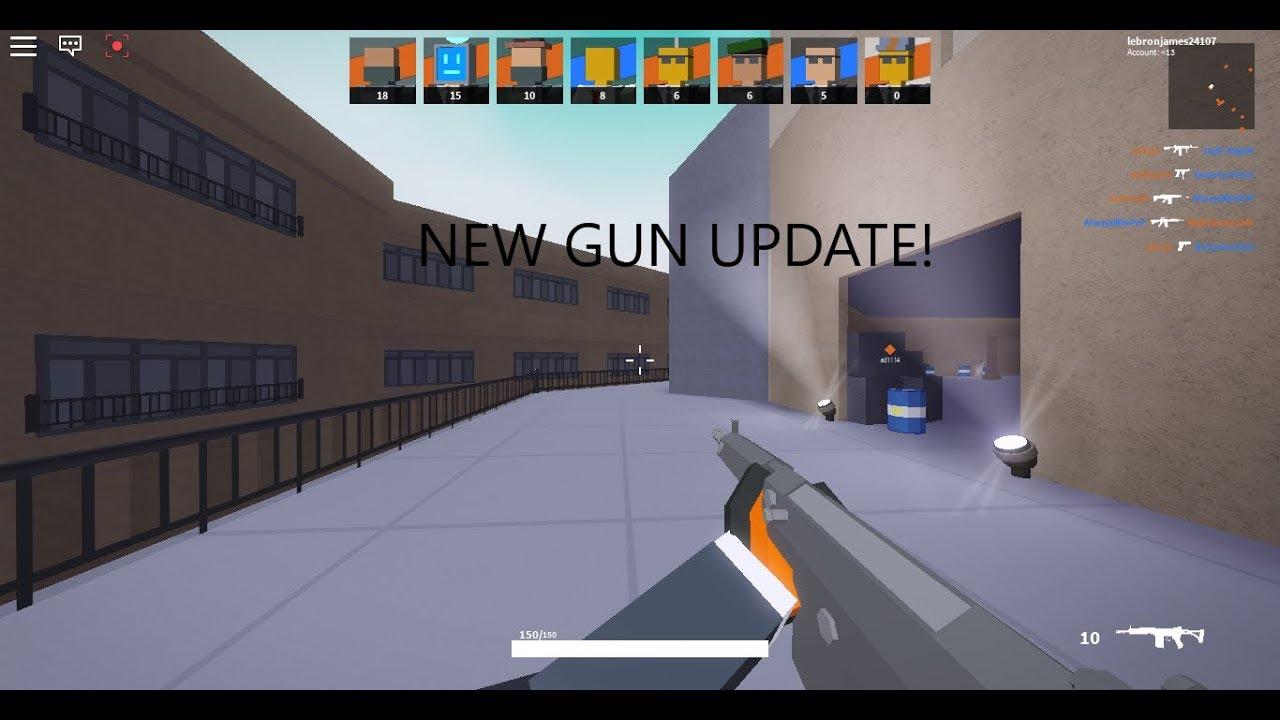 NEW GUN UPDATE! | Roblox Bad Business - YouTube