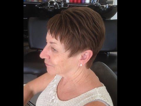 2017 Classy and Simple Short Hairstyles ladies ,dames kort kapsel,byTop Stylist Amal Hermuz hair tv