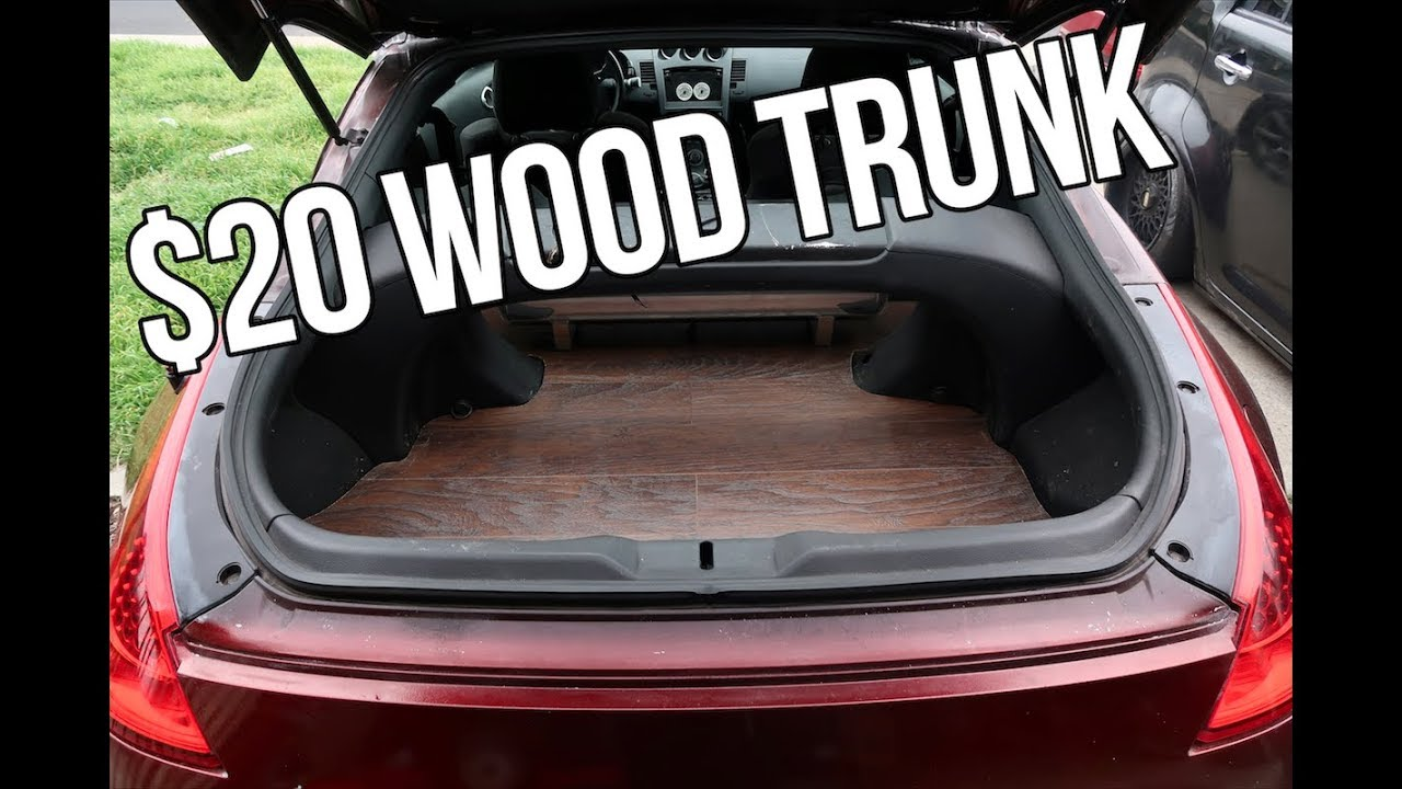 20 Diy Hardwood Trunk Floor