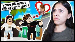 HE IS IN LOVE WITH MY BEST FRIEND & NOW HES TURNING ME INTO HER! - Roblox Roleplay