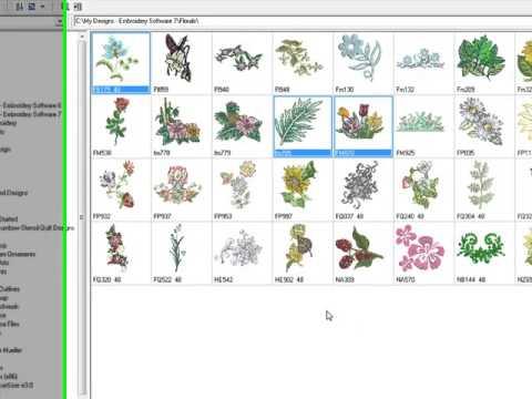 Bernina Embroidery Software 7 Tool Tip Portfolio Youtube
