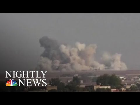 Turkey Launches Attack On U.S.-Backed Kurds In Syria | NBC Nightly News