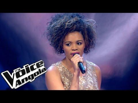 """Filomena Carvalho - """"What if God was one of us"""" / The Voice Angola 2015: Audição Cega"""