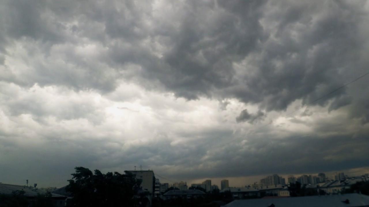 Ураган над Екатеринбургом сняли на видео в режиме timelapse. Автор Андрей Косарев