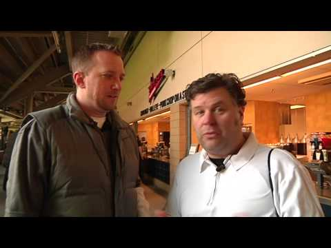ESPN 1500 Rookie and Reuvers at Twins food preview 2013