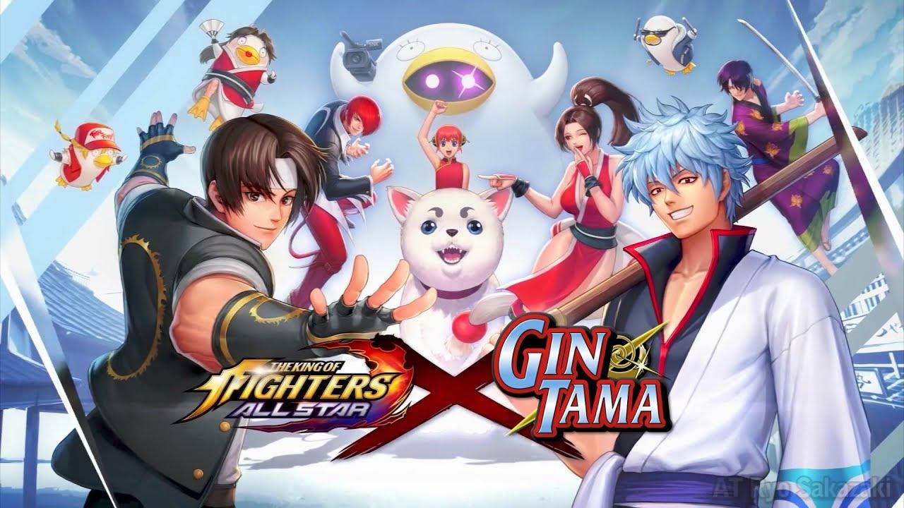 Kof Allstar X Gintama Character Guide Trailer Youtube