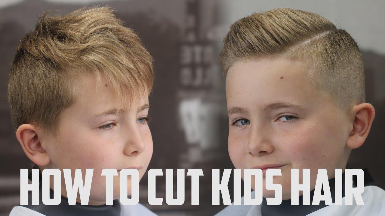Haircut Tutorial How To Cut Kids Hair Youtube