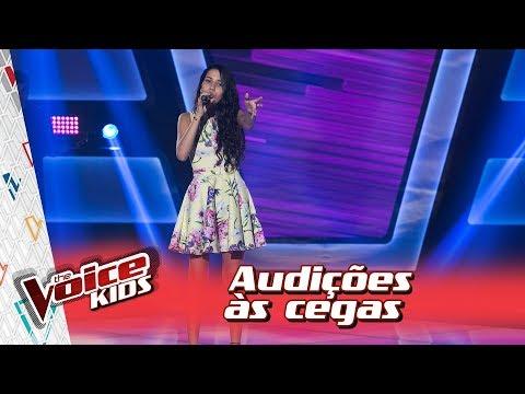 Isadora Emer canta 'Mal de Mim' na Audição – 'The Voice Kids Brasil' | 3ª Temporada