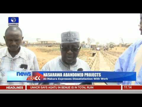 Al-Makura Disengages Contractors Over Abandoned Projects