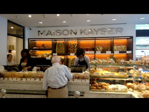 Maison Kayser, New York, At Columbus Circle - French Cuisine