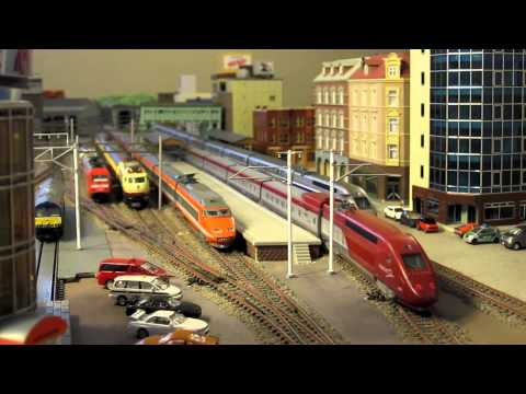 N-Scale European High Speed Trains