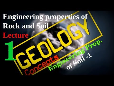 Engineering Properties of Rock and Soil- 1 | Soil Properties Part 1| Geology Concepts