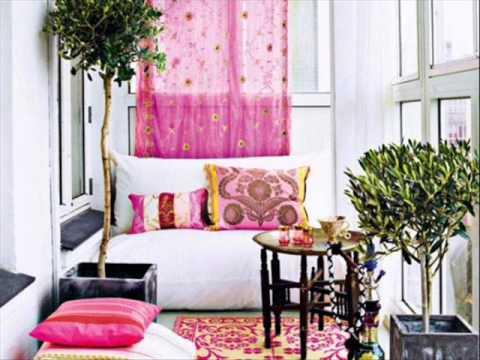Feminine Interior Design Ideas White & Pink Color - YouTube