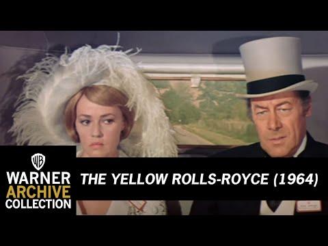 The Yellow RollsRoyce 1965 – Jeanne Moreau