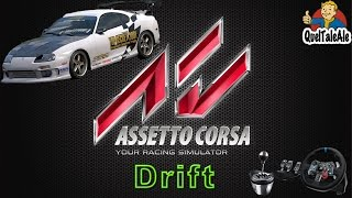 Assetto Corsa - Gameplay ITA - Logitech G29 + TH8A - DRIFT Toyota Supra