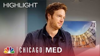 Jay Tells Will About Ray Burke - Chicago Med (Episode Highlight)