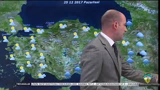 Meteoroloji Genel Müdürlüğü Hava Durumu 22 12 2017