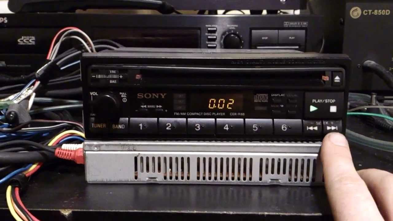 Sony Cdx R88 By Povilas Venclovas Xplod Cd Player Wiring Gt575up Get Free Image About