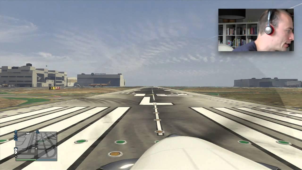 GTA 5 – Flight Simulator (Realistic Flying Tips in GTA V)