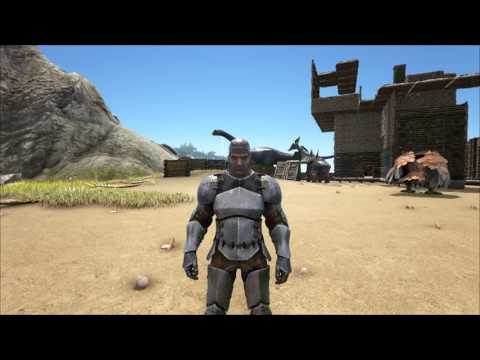 ARK  Survival Evolved: how to make a Assault Rifle and Ammo HD