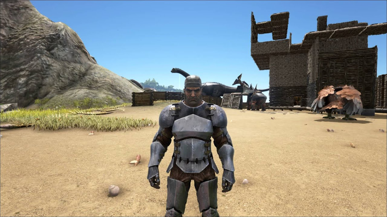 Download ARK  Survival Evolved: how to make a Assault Rifle and Ammo HD