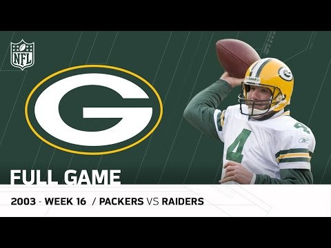 Brett Favre's Legendary Performance after his Dad's Passing | Packers vs. Raiders (FULL GAME) | NFL