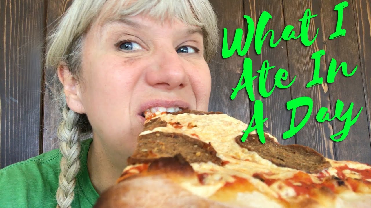 What I Ate In A Day as a Crazy Squirrel Lady