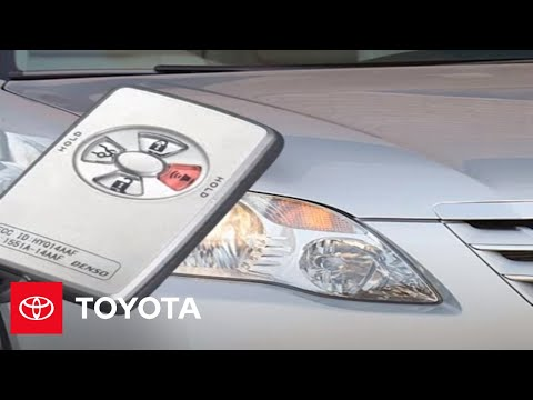 2005 - 2007 Avalon How-To: Starting The Engine Remotely (Limited) | Toyota