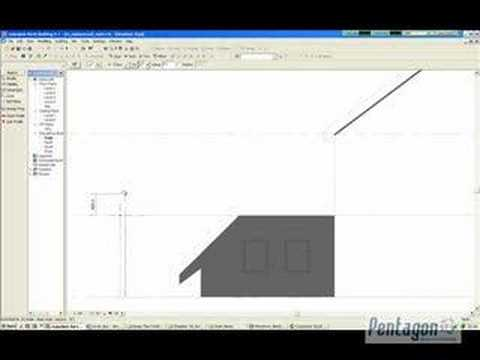 Curved Roofs In Revit Architecture Youtube