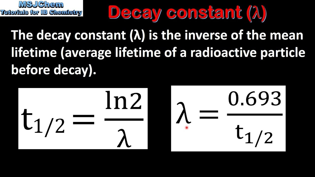 how do you calculate radioactive dating