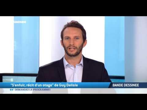 """Bande Dessinée: """"S'enfuir, récit d'un otage"""" de Guy Delisle..."""