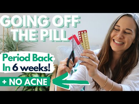 FINALLY! Coming Off The Contraceptive Pill After 8 Yrs!!! PREVENTING ACNE + GETTING MY PERIOD BACK