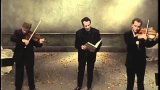 """Elvis Costello & The Brodsky Quartet: """"The First To Leave"""""""