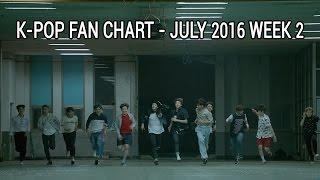 top 40 kpop songs chart july 2016 week 2 fan chart