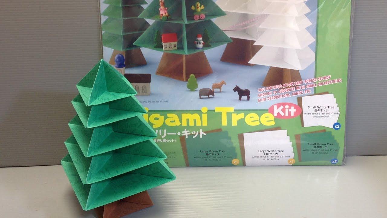 Toyo origami tree kit origami paper unboxing youtube toyo origami tree kit origami paper unboxing jeuxipadfo Images