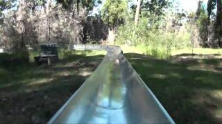 Toboggan Run Alpine Slide POV Magic Mountain Merimbula Australia Wiegand