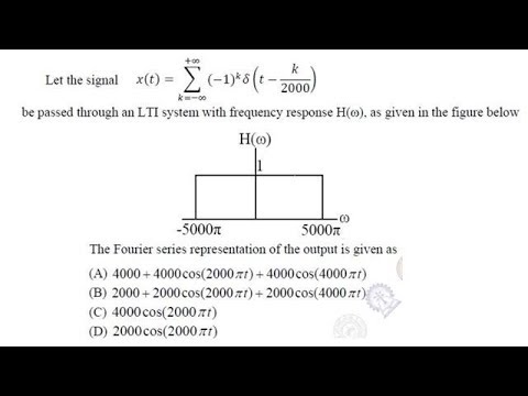Signals And Systems Gate 2017 Solutions Ee Set 1