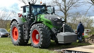 Fendt 1050 Vario Testing The Sledge at Gl. Estrup | Tractor Pulling Denmark