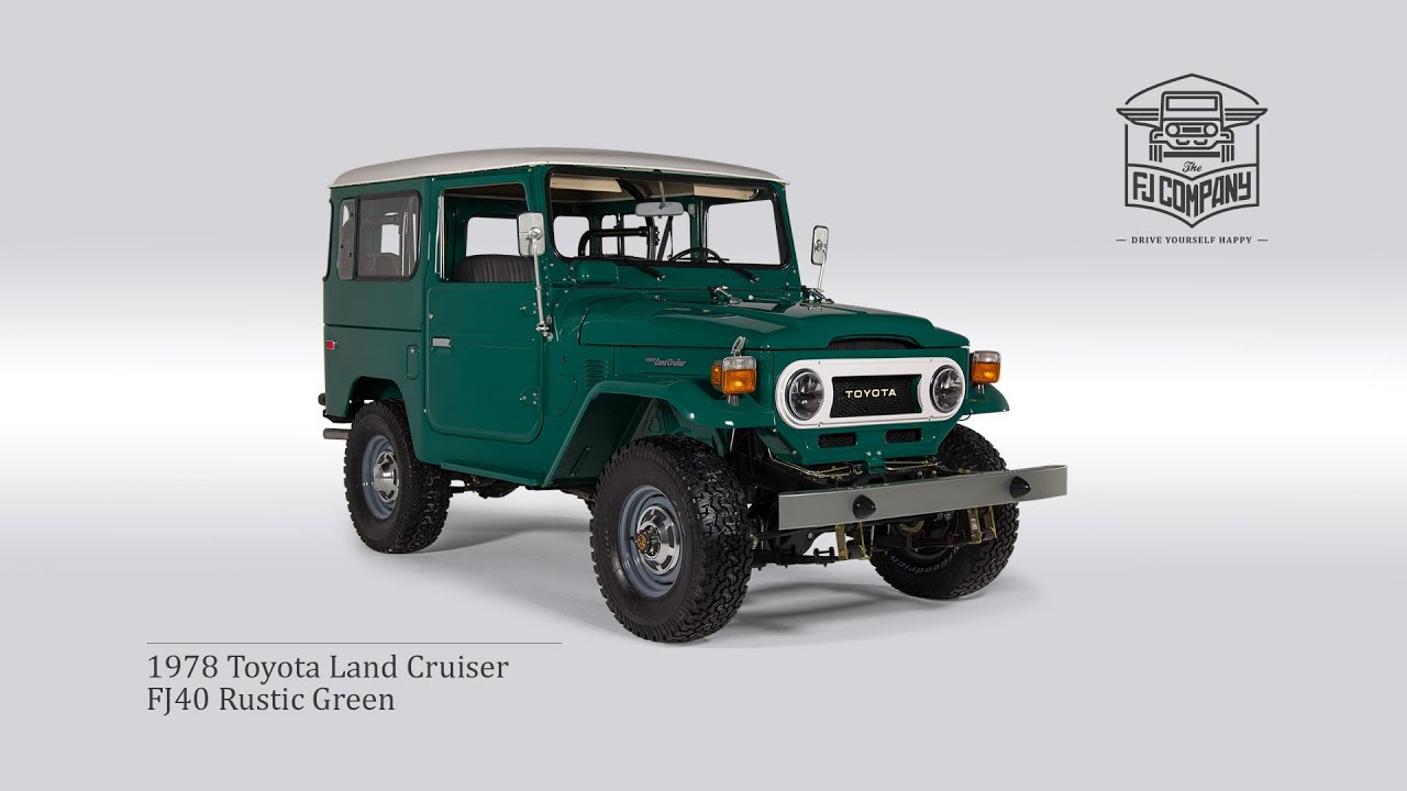 Land Cruiser Restoration >> 1978 Toyota Land Cruiser Fj40 Rustic Green Restoration Process Fullhd