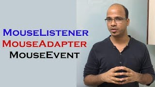 Video How to use MouseListener, MouseAdapter and MouseEvent in Java Swing download MP3, 3GP, MP4, WEBM, AVI, FLV Oktober 2018
