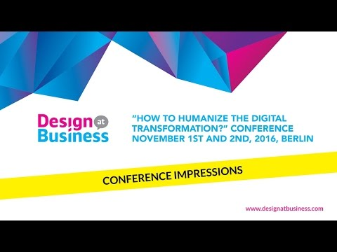 Design at Business Conference 2016 Berlin - Impressions